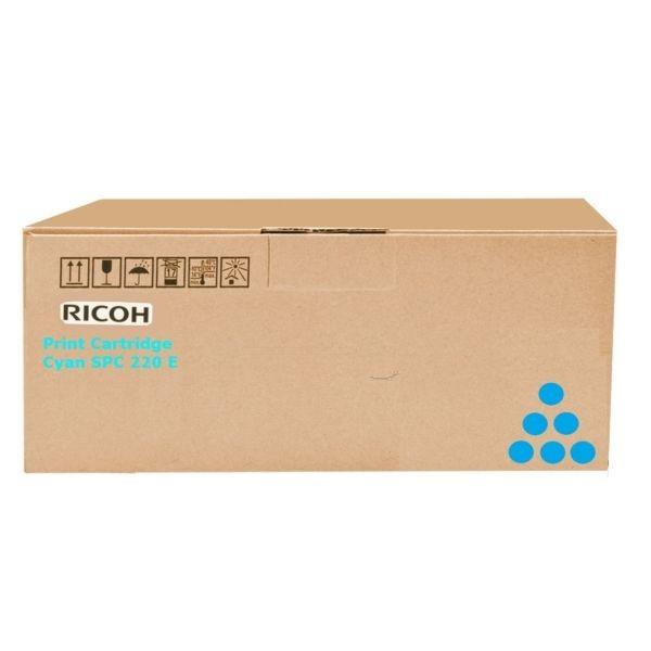Ricoh SP C252DN/C252SF/SP 252E/AIO/TONSP C252CYHY/Type SPC252E Toner - festékkazetta 4K cián (kék), eredeti