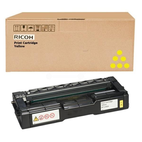 Ricoh SP C252DN/C252SF/SP 252E/AIO/TONSP C252YEHY Toner - festékkazetta 4K sárga (Yellow), eredeti